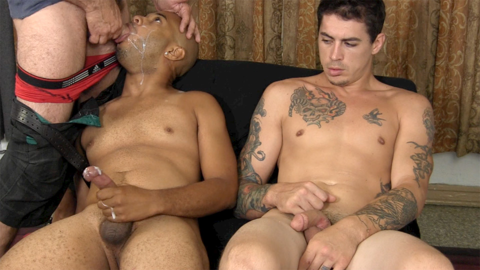 Straight-Fraternity-Franco-Lance-and-Tommy-Interracial-Straight-Cock-Sucking-Amateur-Gay-Porn-25 Two Amateur Straight Fraternity Brothers Shooting Cum With A Gay Guy