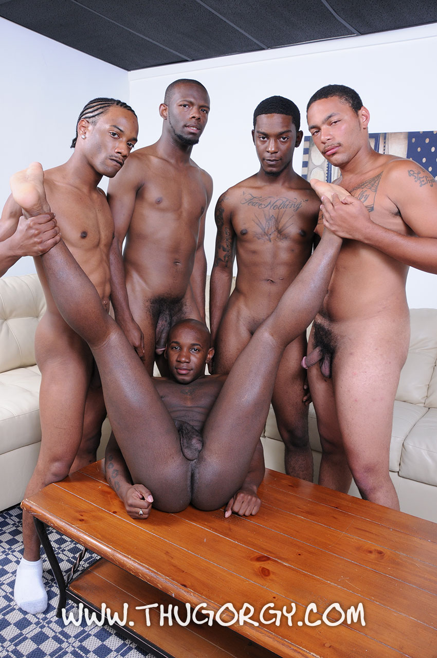 ThugOrgy Angel Boi Intrigue Kash Mr Magic Ramon Steele Big Black Cock Sucking Amateur Gay Porn 06 Five Amateur Black Thugs With Big Black Cocks Having A Cock Sucking Orgy