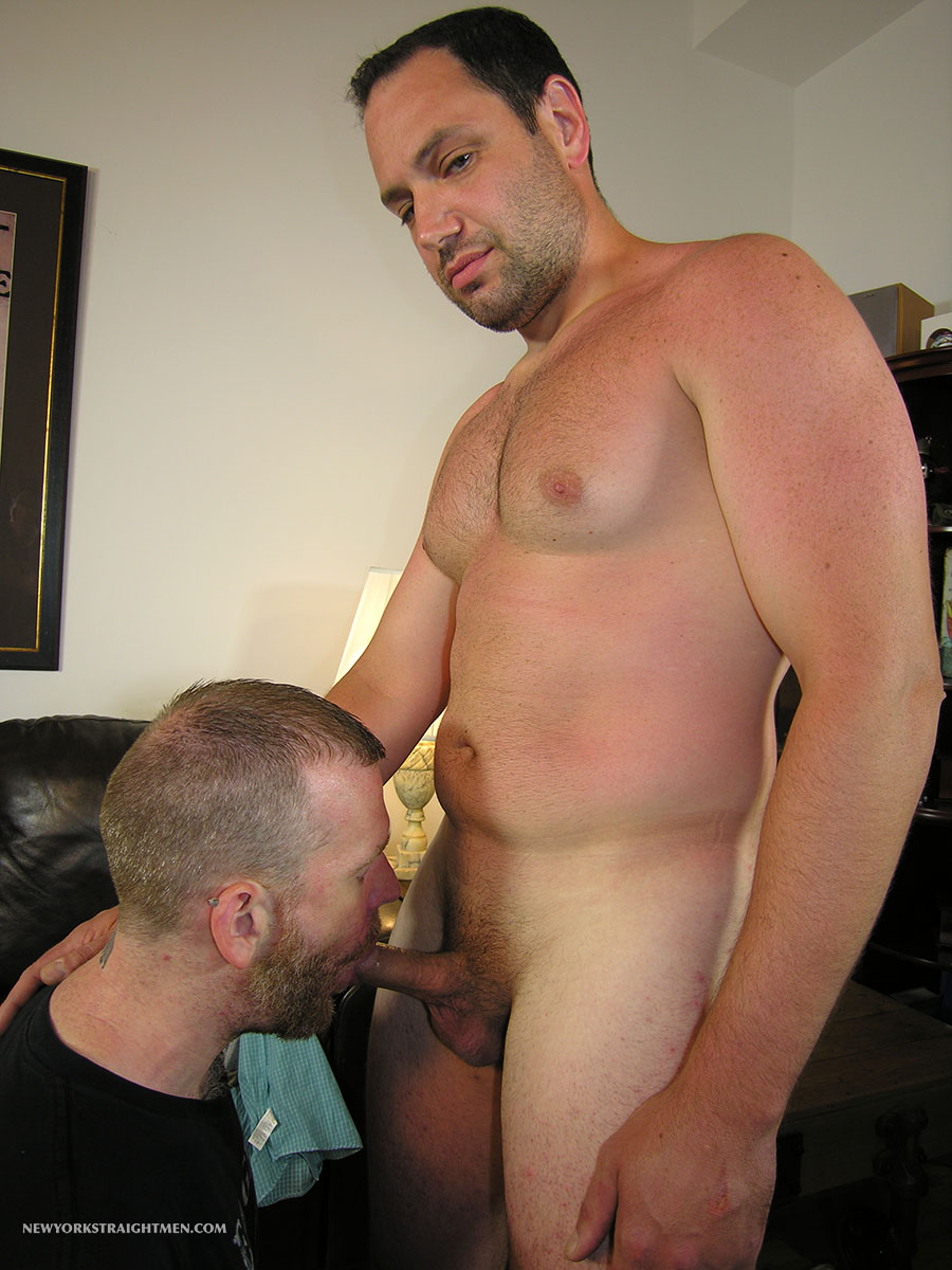 New York Straight Men Jack and Sean Straight Guy Getting Blowjob From Gay Guy Amateur Gay Porn 06 Bicurious Beefy NYC Guy Gets His First Blowjob From Another Guy