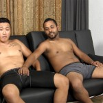 Straight Fraternity Aaron and Junior Straight Asian Sucks Big Cock Amateur Gay Porn 05 150x150 Hung Straight Asian Stud Gives His First Blowjob To Another Guy