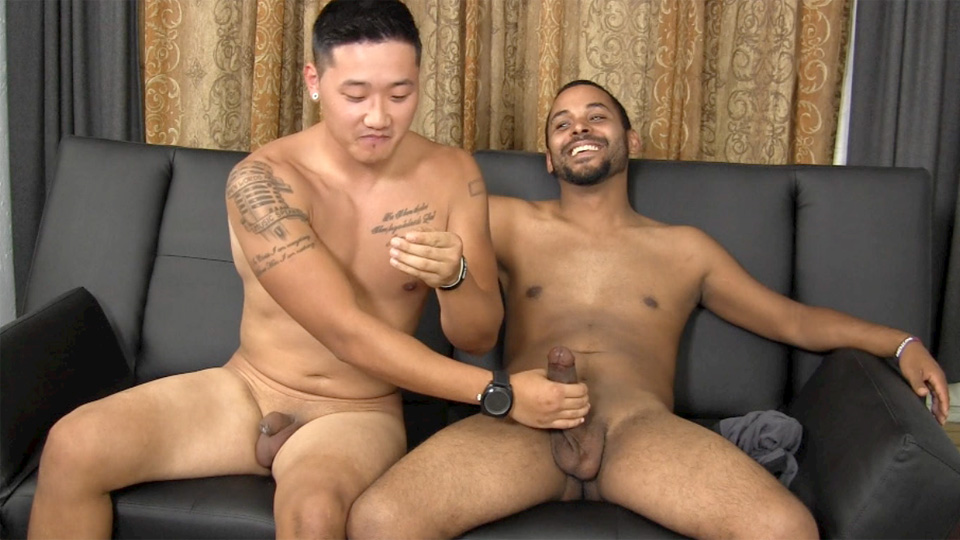 Straight asian men porn