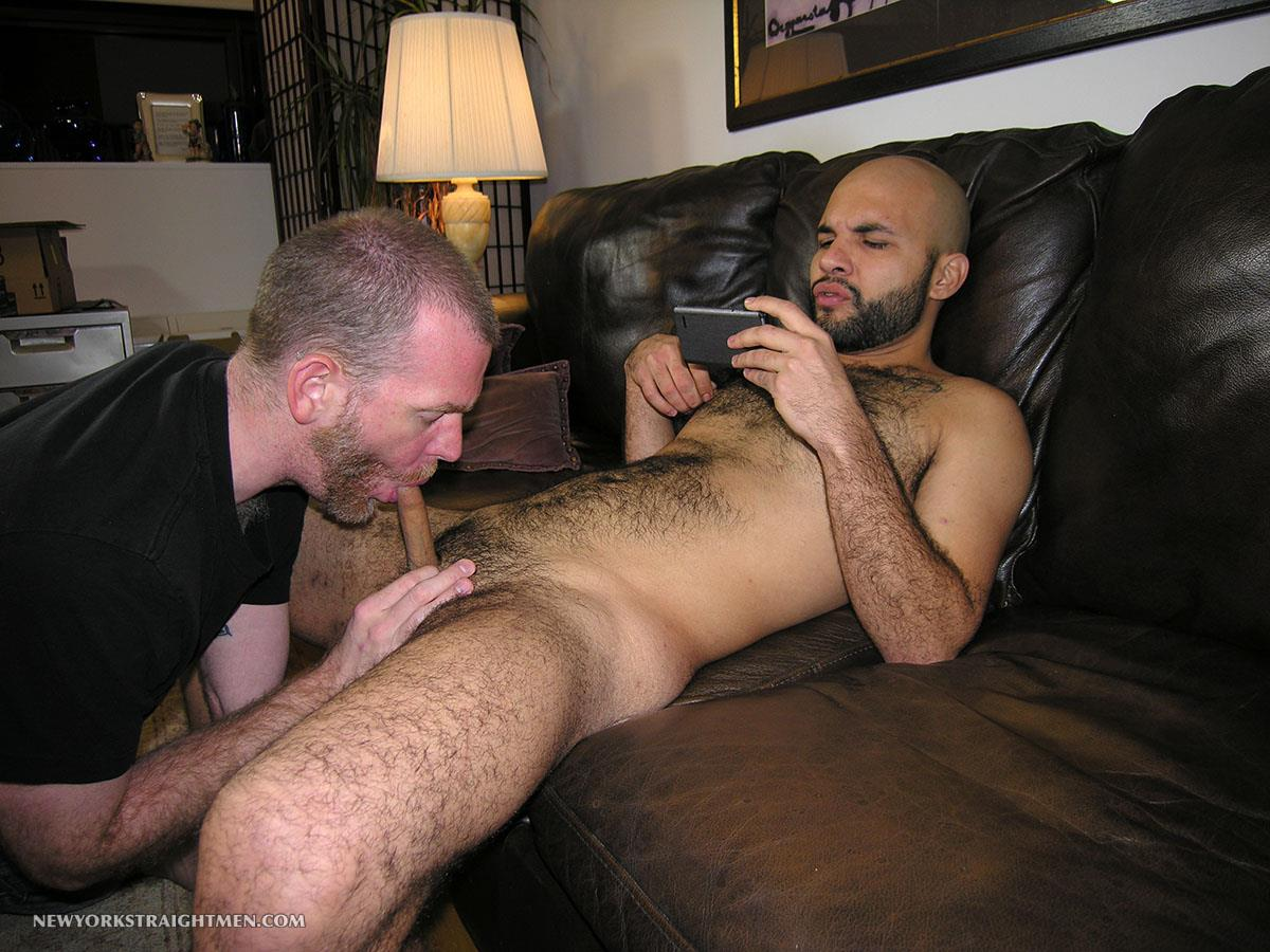 New-York-Straight-Men-Hairy-Straight-Puerto-Rican-Getting-Cock-Sucked-By-A-Guy-Amateur-Gay-Porn-08 Amateur Straight Hairy Puerto Rican Hottie Gets His First Guy Blowjob