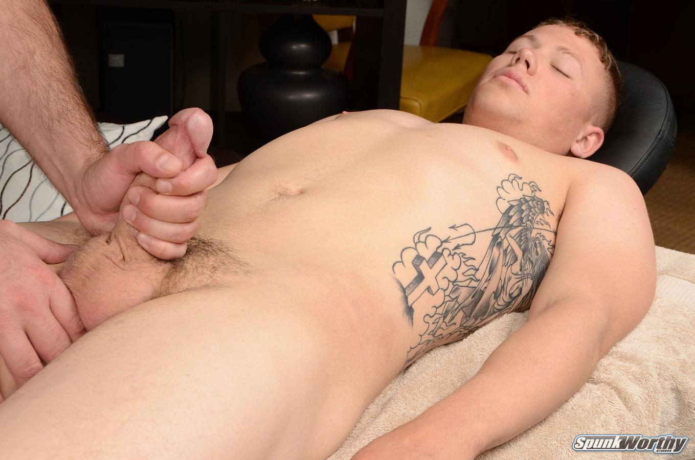 Spunk-Worthy-Sean-Straight-Marine-Getting-Massage-With-Happy-Ending-Amateur-Gay-Porn-09 Straight Marine Gets A Massage With Happy Ending From A Guy