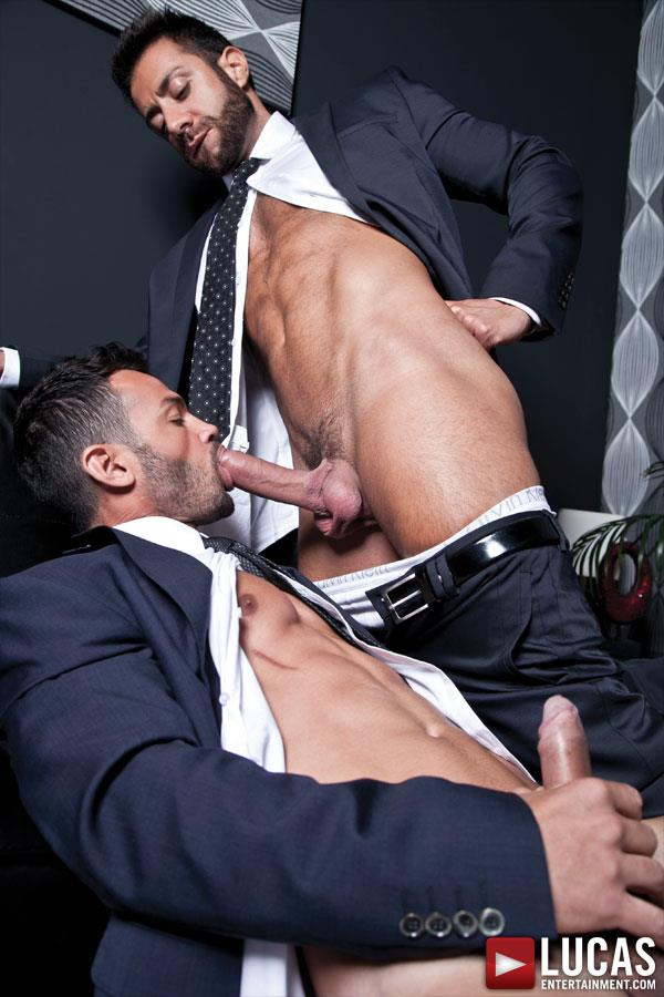 Lucas-Entertainment-Adriano-Carrasco-and-Valentino-Medici-Huge-Uncut-Cocks-Men-In-Suits-Fucking-Amateur-Gay-Porn-04 Hunks In Business Suits With Big Uncut Cocks Fucking Hard