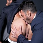 Lucas Entertainment Adriano Carrasco and Valentino Medici Huge Uncut Cocks Men In Suits Fucking Amateur Gay Porn 05 150x150 Hunks In Business Suits With Big Uncut Cocks Fucking Hard