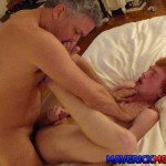 Maverick Men Hunter Josh Big Cock Daddys Fucking Ginger Redhead Amateur Gay Porn 21 150x150 Young Virgin Ginger Twink Gets Two Thick Daddy Cocks Bareback