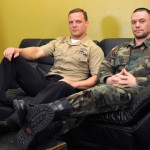 All American Heroes NAVY CORPSMAN LOGAN FUCKS SERGEANT MILES Military Guys Fucking Bareback Amateur Gay Porn 01 150x150 Real US Navy Corpsman Barebacking A US Army Sergeant