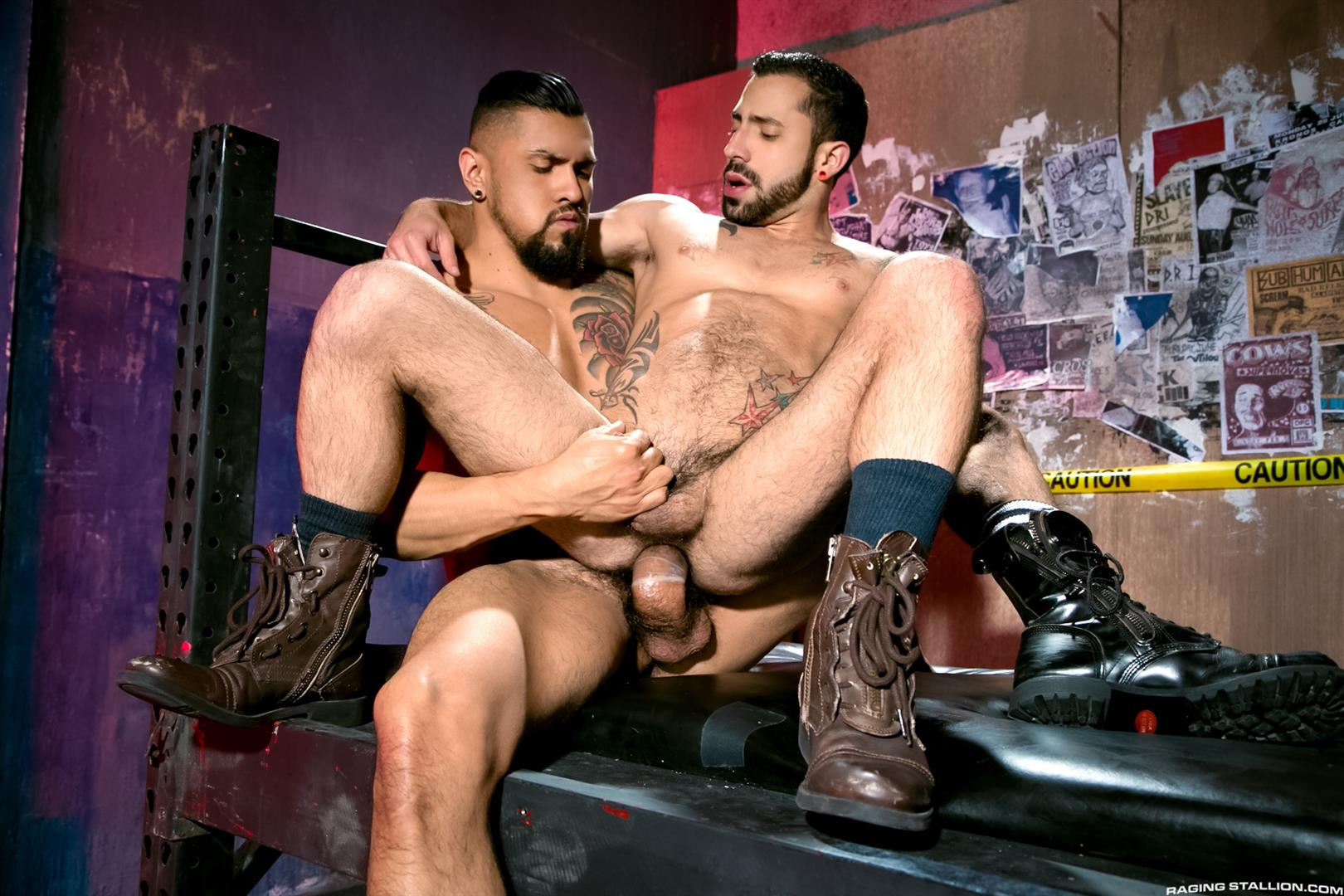 Raging Stallion Boomer Banks and Nick Cross Huge Uncut Cock Fucking A Latino Ass Amateur Gay Porn 11 Boomer Banks Fucking Nick Cross With His Huge Uncut Cock