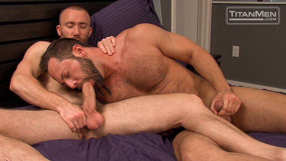 Titan Men Nick Prescott and Tyler Edwards Hairy Muscle Hunks Fucking With Big Cocks Amateur Gay Porn 09 Hairy Muscle Boyfriends Nick Prescott and Tyler Edwards Fucking