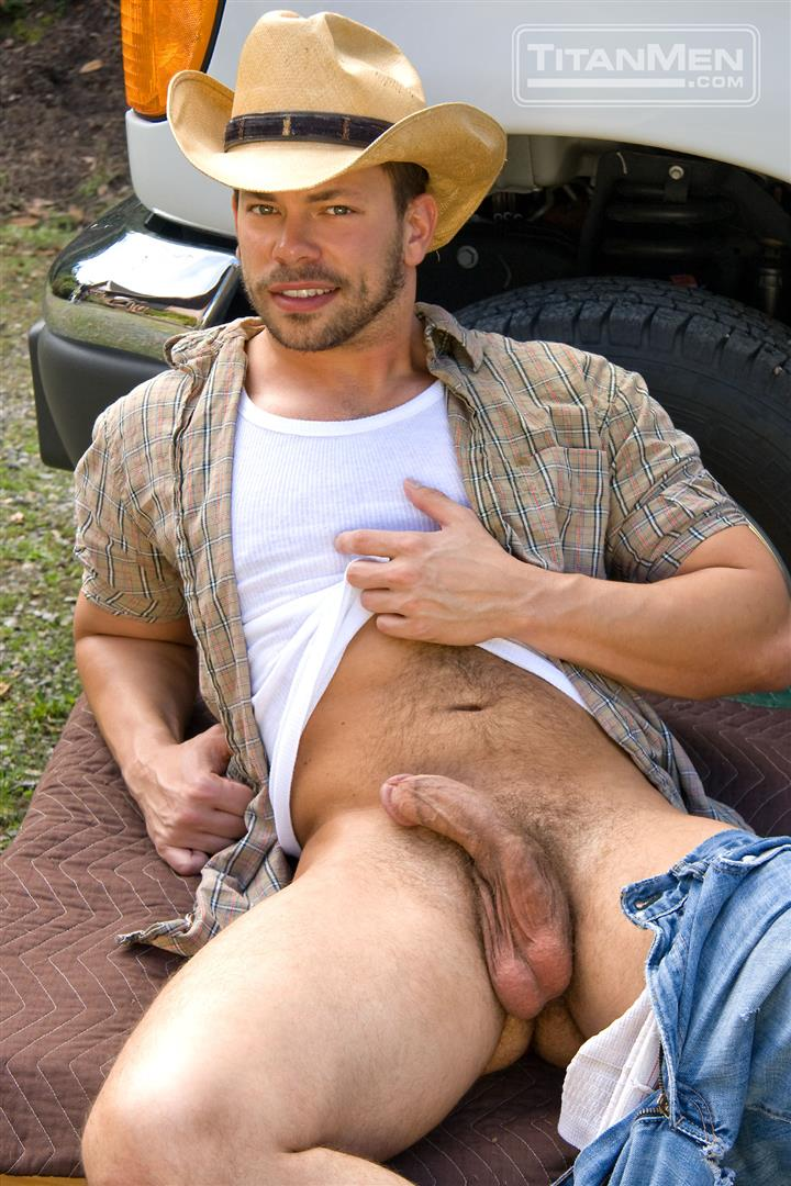 Cowboy monster dick gay the tall 2