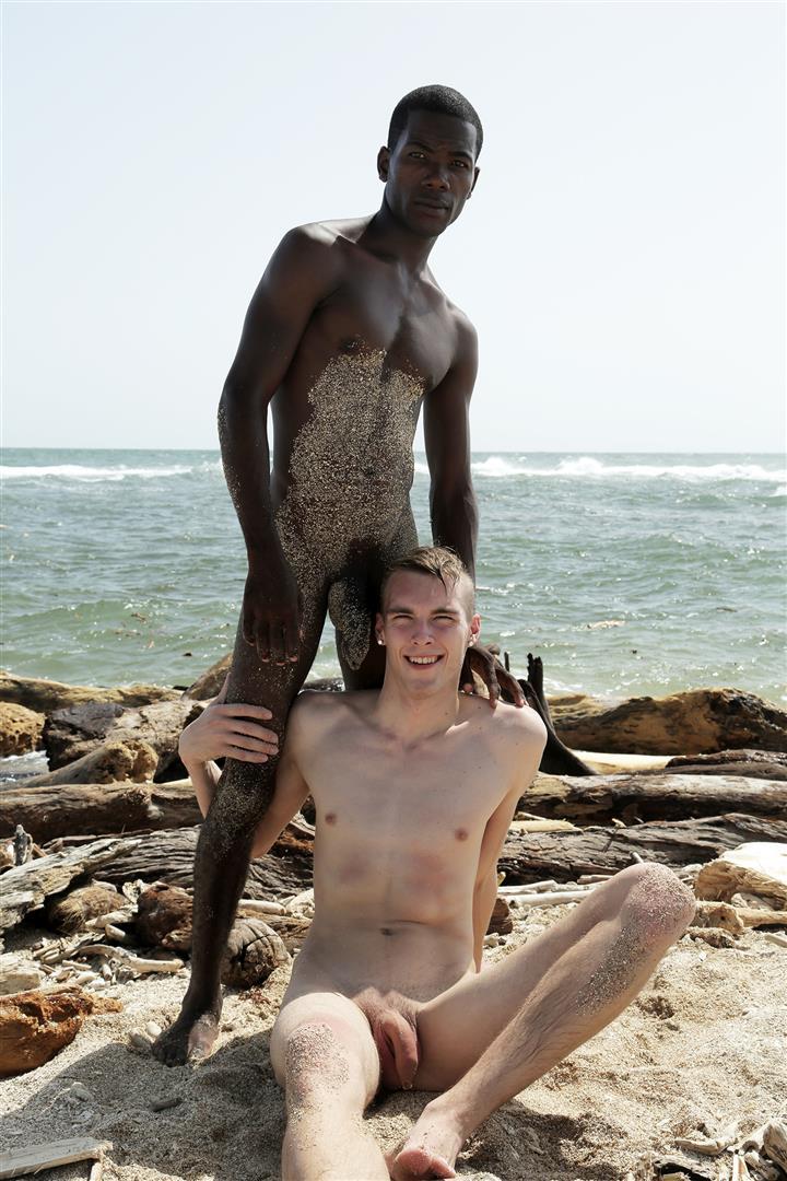 Staxus-Devon-LeBron-and-Mike-James-Interracial-Twink-Bareback-Big-Black-Cock-Amateur-Gay-Porn-06 Skinny White Twink Gets Fucked Bareback By A Uncut Big Black Cock