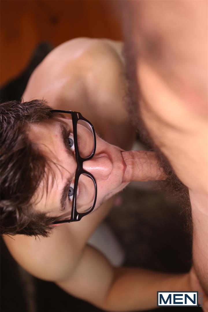 Men-Will-Braun-and-Jimmy-Fanz-Nerdy-Guy-Fucking-A-Hairy-Muscle-Hunk-Amateur-Gay-Porn-10 Hairy Hunk Jimmy Fanz Gets Fucked By Nerdy Will Braun