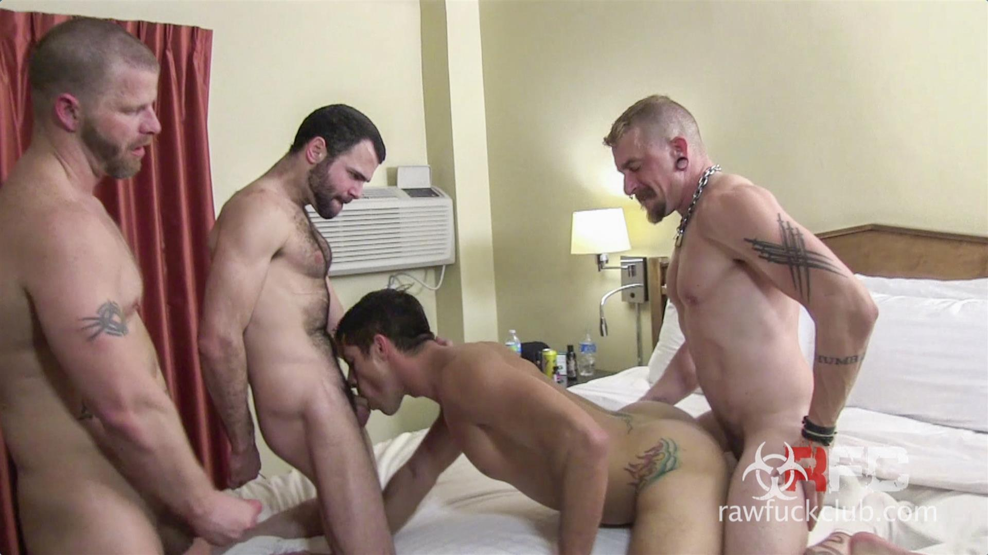 Raw Fuck Club Dylan Saunders and Dusty Williams and Jeff Kendall and Jeremy Stevens BBBH Amateur Gay Porn 07 Big Cock Amateur Hotel Bareback Sex Party