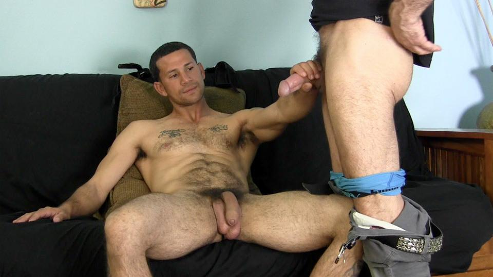 His first big cock