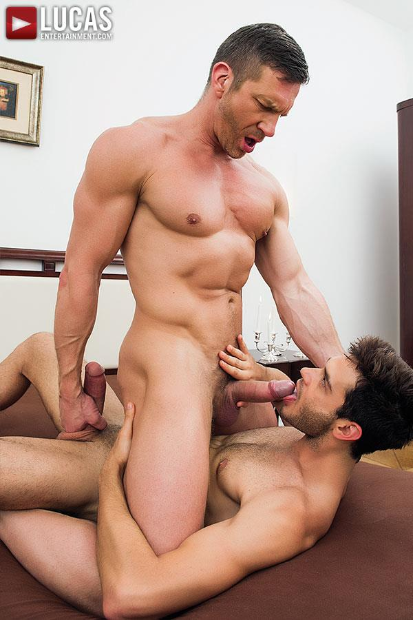Lucas Entertainment Leo Alexander and Tomas Brand Huge Cock Bareback Fucking Amateur Gay Porn 02 Lucas Entertainment Debuts Huge Cock Leo Alexander Bareback