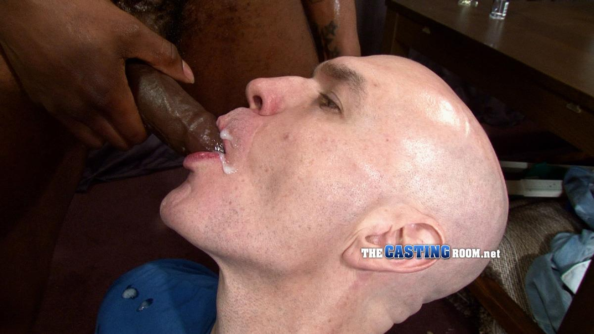 Uncut dick blowjob