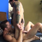 Dudes Raw Jimmie Slater and Nick Cross Bareback Flip Flop Sex Amateur Gay Porn 30 150x150 Hairy Young Jocks Flip Flop Bareback & Cream Each Others Holes