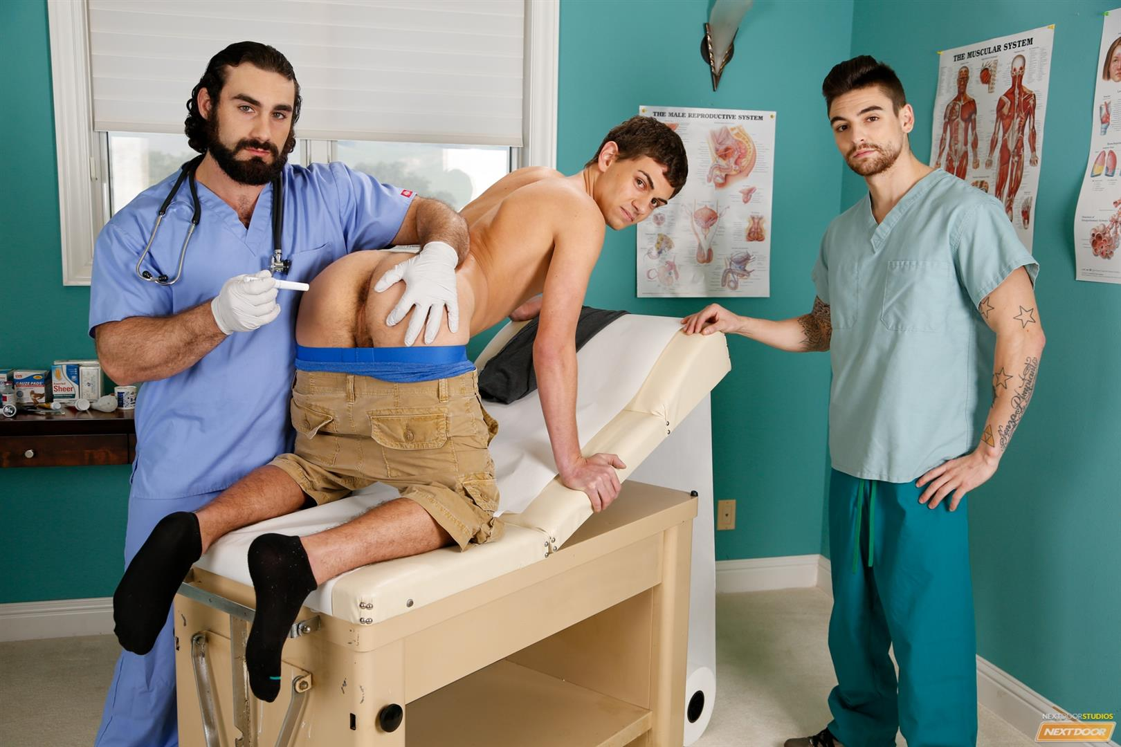 Next Door Twink Johnny Torque and Kevin Summers and Jaxton Wheeler Amateur Gay Porn 01 Twink Kevin Summers Visits His Doctor & Gets Fucked In The Ass