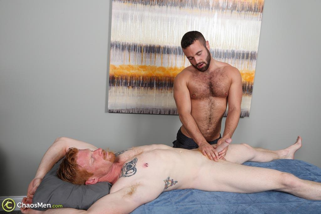 ChaosMen Noah and Aric Naked Redhead Gets Blowjob and Rimming Amateur Gay Porn 12 Straight Redhead Gets A Massage, Rimming and Blow Job From Another Guy