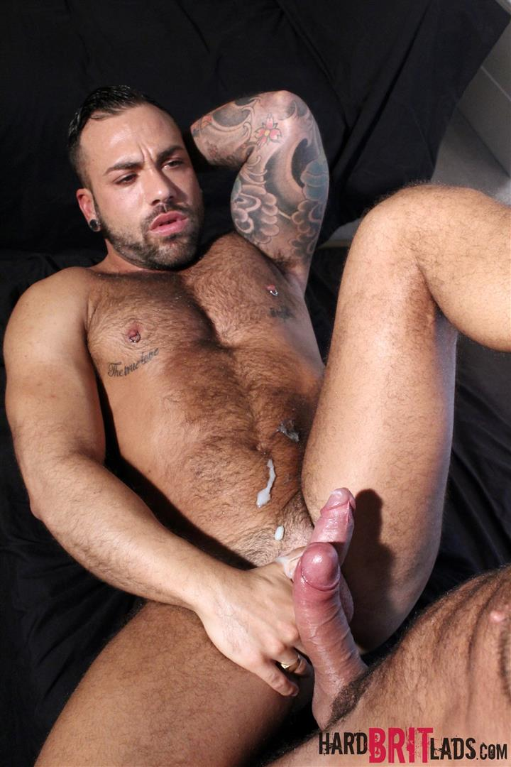 Hard Brit Lads Sergi Rodriguez and Letterio Amadeo Big Uncut Cock Fucking Amateur Gay Porn 25 Hairy British Muscle Hunks Fucking With Their Big Uncut Cocks