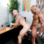 Sean Duran and Osiris Blade Extra Big Dicks Black Cock Interracial Amateur Gay Porn 15 150x150 White Muscle Hunk Takes A Big Black Cock Up The Ass During A Job Interview