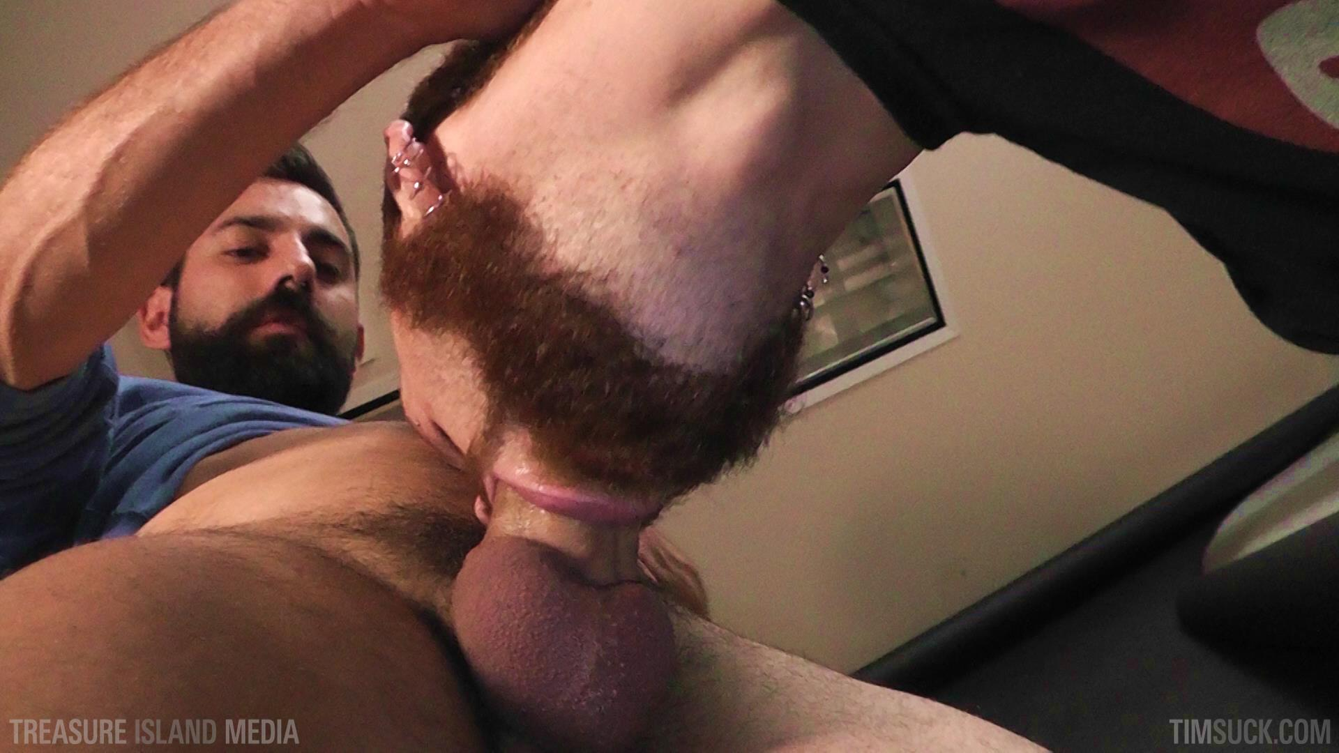 Treasure-Island-Media-TimSuck-Pete-Summers-and-Dean-Brody-Sucking-A-Big-Uncut-Cock-Amateur-Gay-Porn-01 Bearded Ginger Services A Big Uncut Cock And Eats The Cum