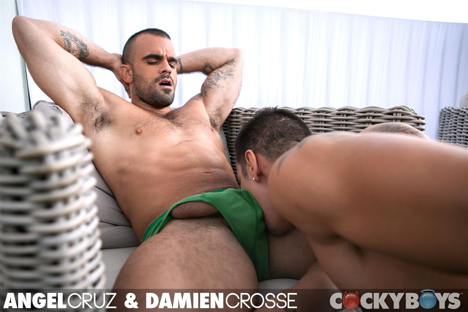 Cockyboys-Angel-Cruz-and-Damien-Cross-Big-Uncut-Cocks-Fucking-Amateur-Gay-Porn-06 Angel Cruz and Damien Cross Flip Fucking With Their Big Uncut Cocks
