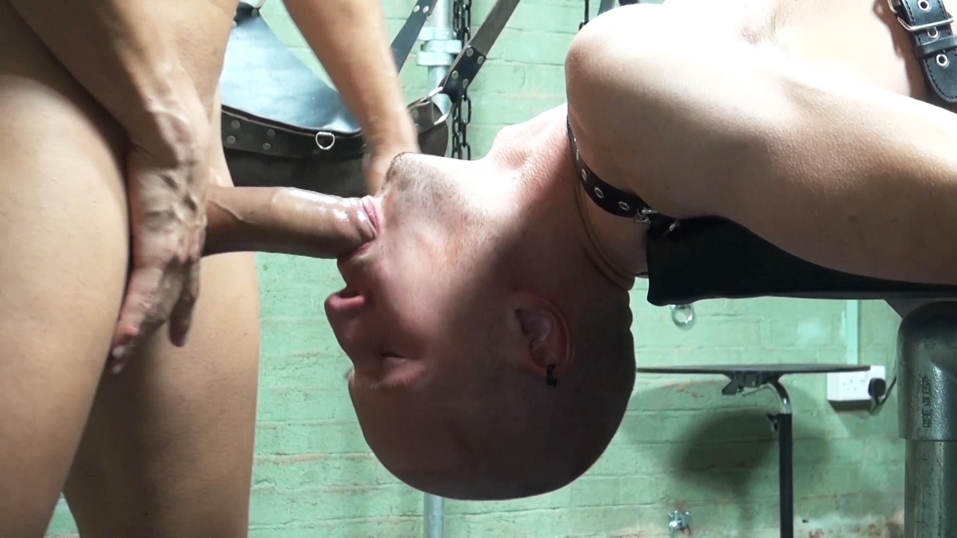 Dark-Alley-XT-Anakonda-and-Jason-Domino-Bareback-Big-Uncut-Cock-Amateur-Gay-Porn-3 Breeding A Slave Hole With A Big Uncut Cock At The Bathhouse
