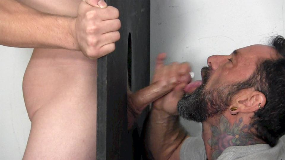 Straight-Fraternity-Donny-Forza-Straight-Guy-Getting-Sucked-Through-Gloryhole-Amateur-Gay-Porn-10 Donny Forza Gets His Big Dick Sucked Through A Gloryhole