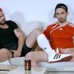Hard Kinks Mario Domenech and Koldo G Bareback Big Uncut Cocks Amateur Gay Porn 01 150x150 Watching The Soccer Game With A Bud Leads To Bareback Fun