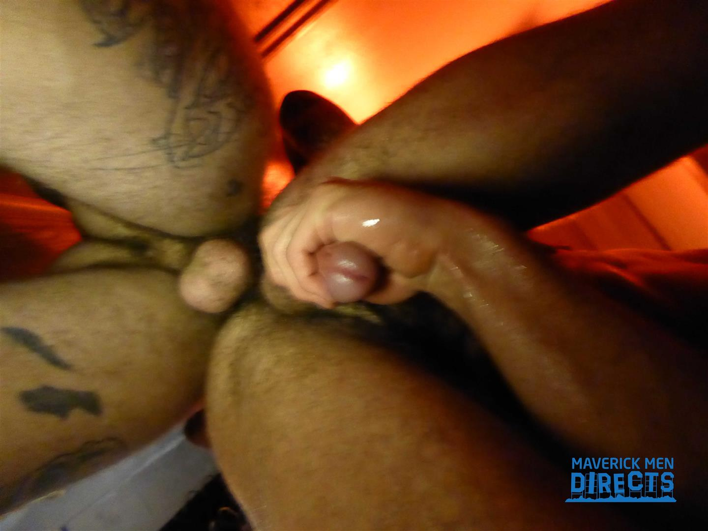Maverick-Men-Directs-Men-Bareback-Fucking-In-A-Gay-Bar-Bathroom-15 Getting Bred By A Big Dick In The Bathroom At A Gay Bar