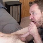 Cum-Club-Naked-Army-Guy-Gets-A-Blowjob-From-A-Guy-Redhead-24-150x150 Scruffy Army Boy Gets His Ginger Cock Sucked By A Man
